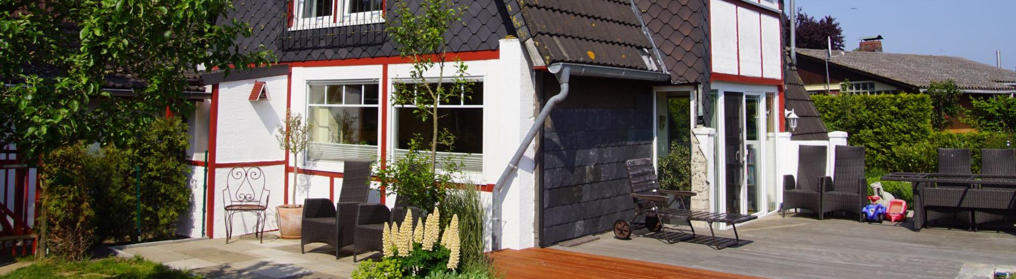 Ruheoase in Hohenfelde mit Ostseeblick