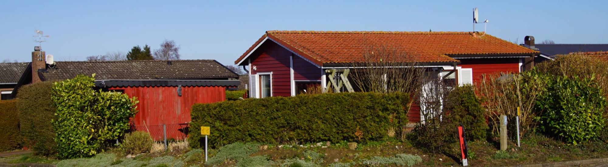 Kleines gemütliches Schwedenhaus in Hohenfelde an der Ostsee
